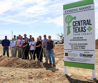 CTFC Breaks Ground on New San Angelo Office Building