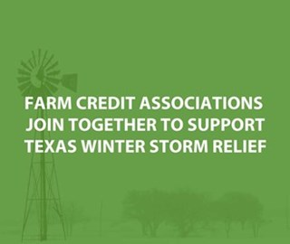 Farm Credit Associations Support Texas Winter Storm Relief
